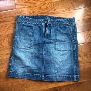 Loft jean skirt! Size 4!
